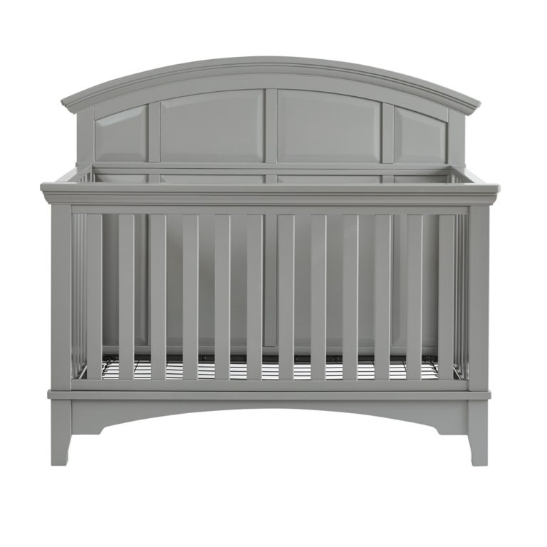 Brooklyn Convertible Crib Gray Baby Crib Nursery Furniture Kolcraft