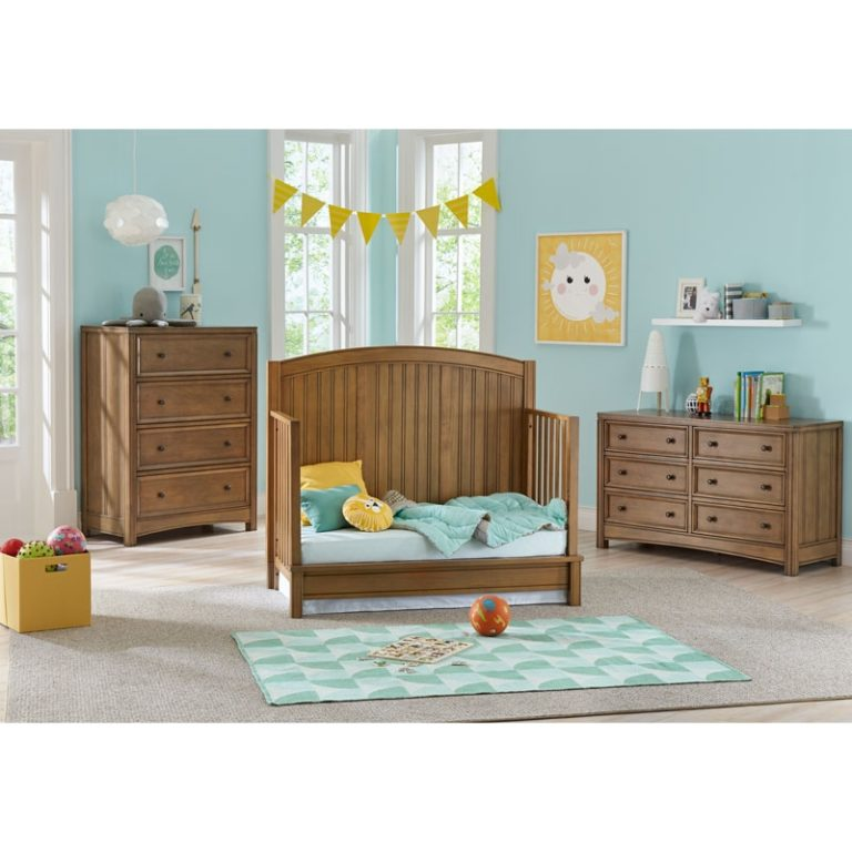 Bristol 4-in-1 Toddler Bed Conversion Kit - Sandstone