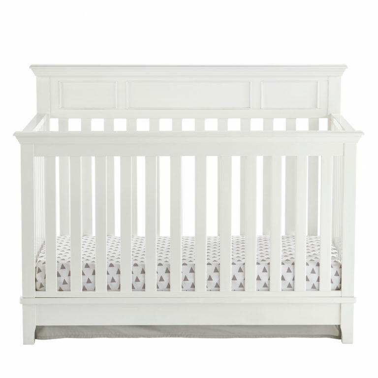Harper 4-in-1 Convertible Crib - White