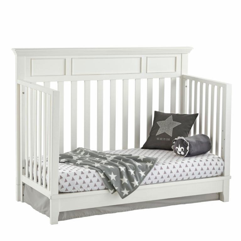Harper 4-in-1 Convertible Crib - White