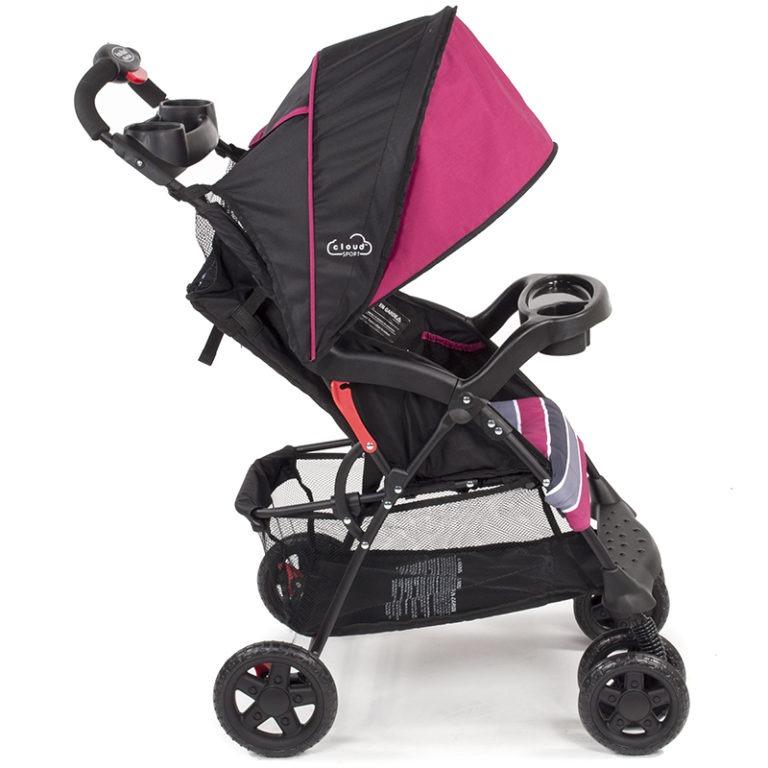 Kolcraft Cloud Sport Lightweight Stroller - Orchid Pink