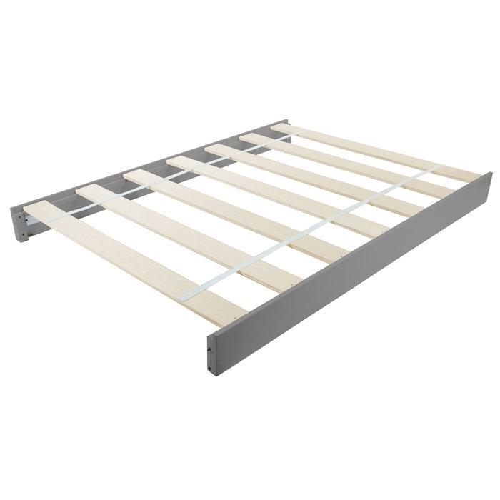 Brooklyn Convertible Crib Full Size Bed Rails - Nursery Gray