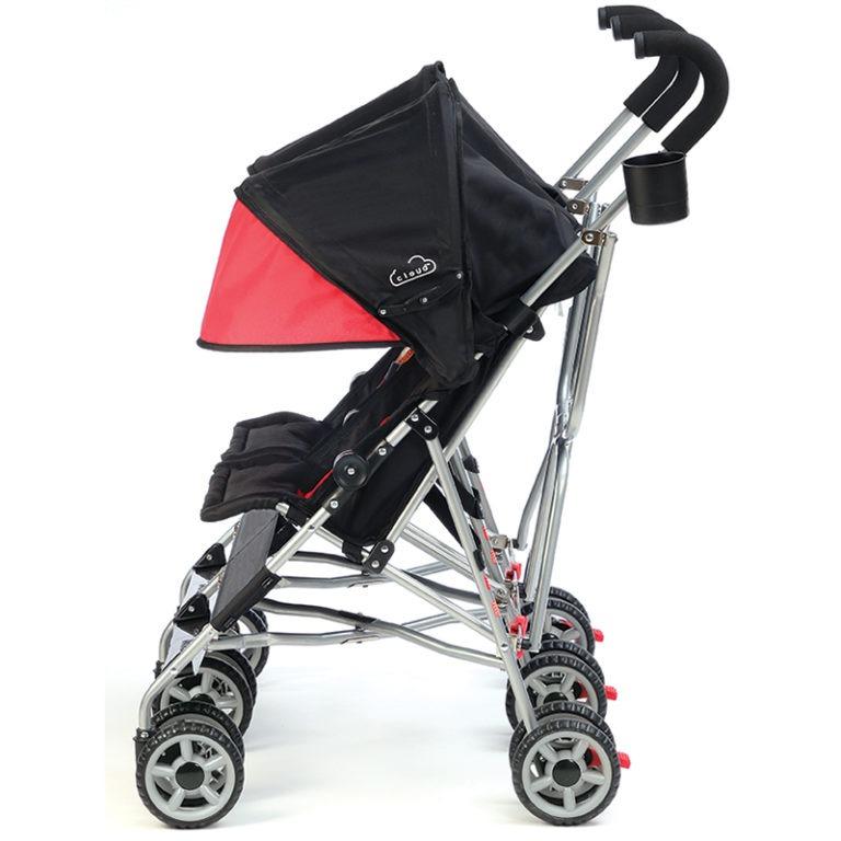 Kolcraft Cloud Double Umbrella Stroller - Scarlet Red