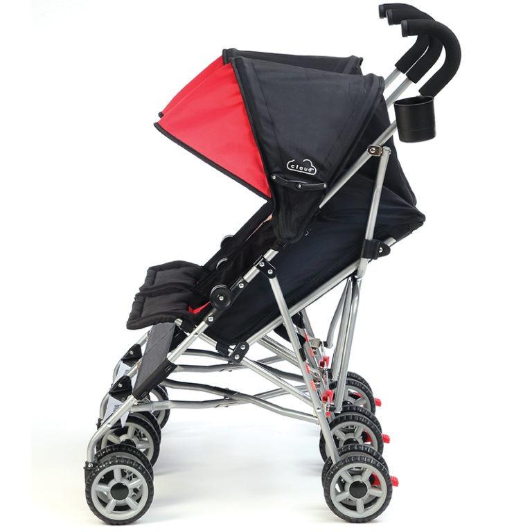 Kolcraft Cloud Double Umbrella Stroller Lightweight