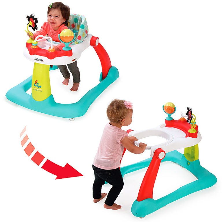 Kolcraft Tiny Steps 2-in-1 Activity Center