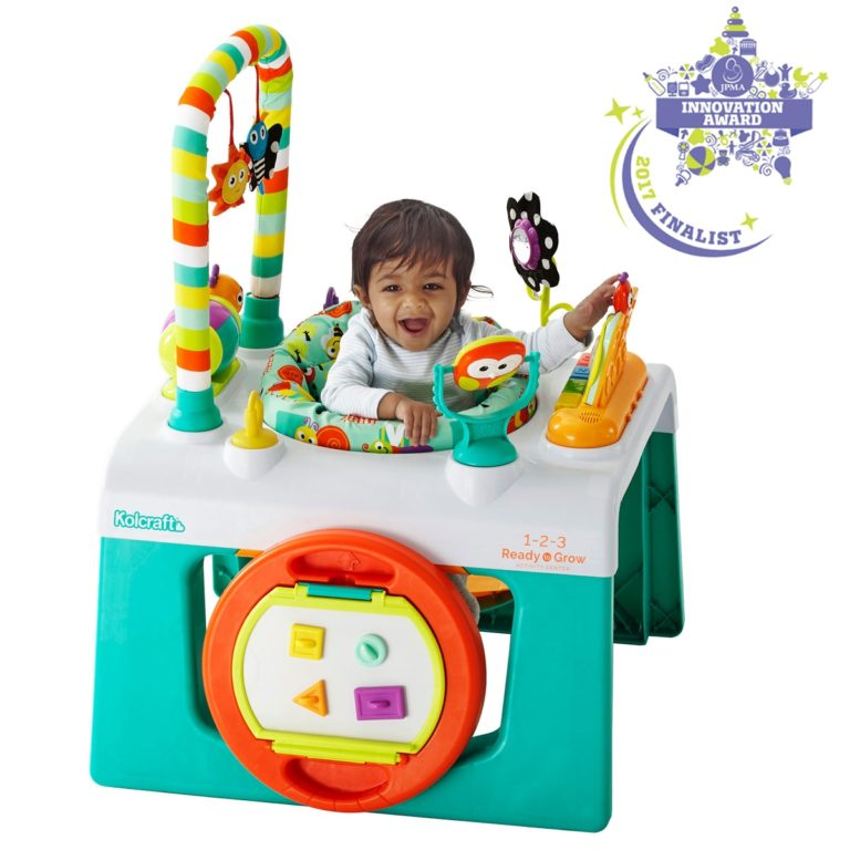 Kolcraft 1-2-3 Ready to Grow Activity Center
