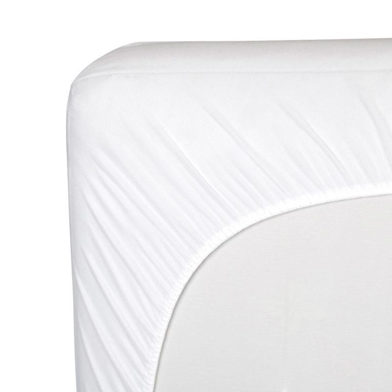 Kolcraft Baby Dri Waterproof Crib and Toddler Mattress Pad Cover - White