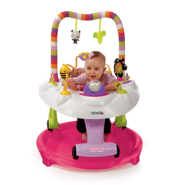 Private: Kolcraft Baby Sit & Step  2-in-1 Activity Center