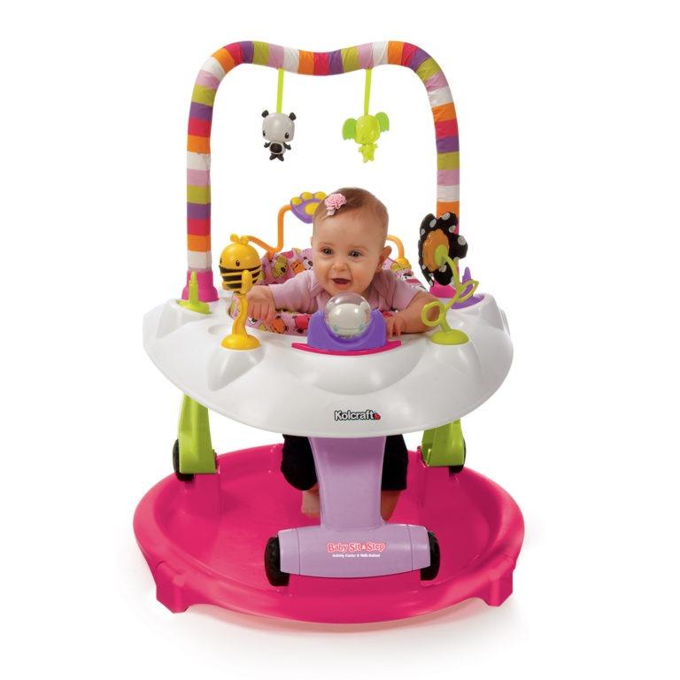 Kolcraft Baby Sit & Step  2-in-1 Activity Center