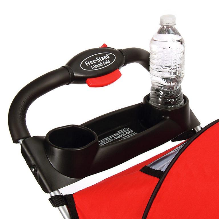 Kolcraft Cloud Plus Stroller - Fire Red