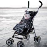 Kolcraft Cloud Umbrella Stroller - Black