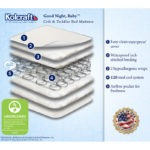 Kolcraft Good Night, Baby Crib Mattress - White