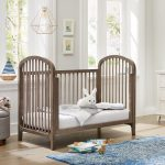 Elston 3-in-1 Convertible Crib - Antique Gray