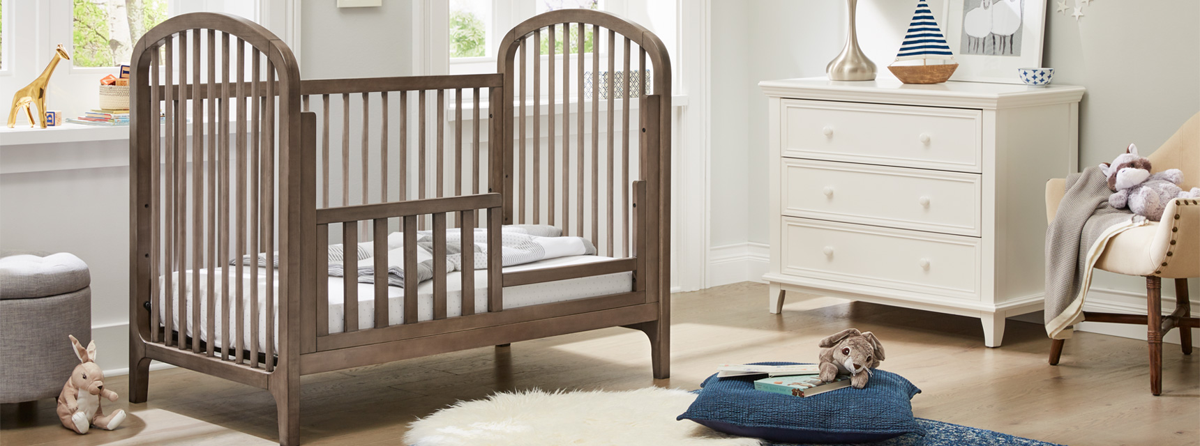 Elston 3 In 1 Toddler Bed And Daybed Conversion Kit Kolcraft