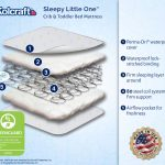 Features of the Kolcraft Sleepy Little One Crib and Toddler mattress