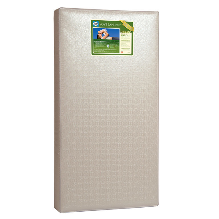 Sealy Soybean Foam-Core Crib & Toddler Bed Mattress