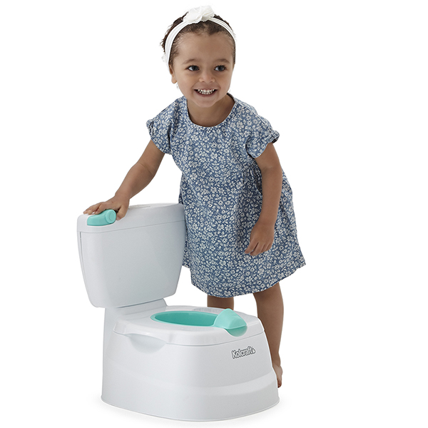 My Mini Potty 2-in-1 Potty Trainer - White