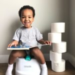 My Mini Potty 2-in-1 Potty Trainer - White