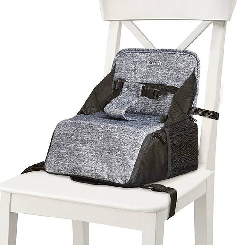 Kolcraft Booster Seat fixed to the chair