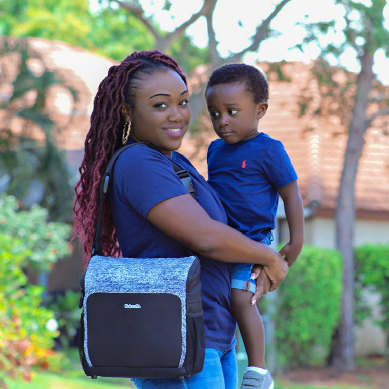 Kolcraft Travel Duo 2 In 1 Portable Booster Seat And Diaper Bag Kolcraft