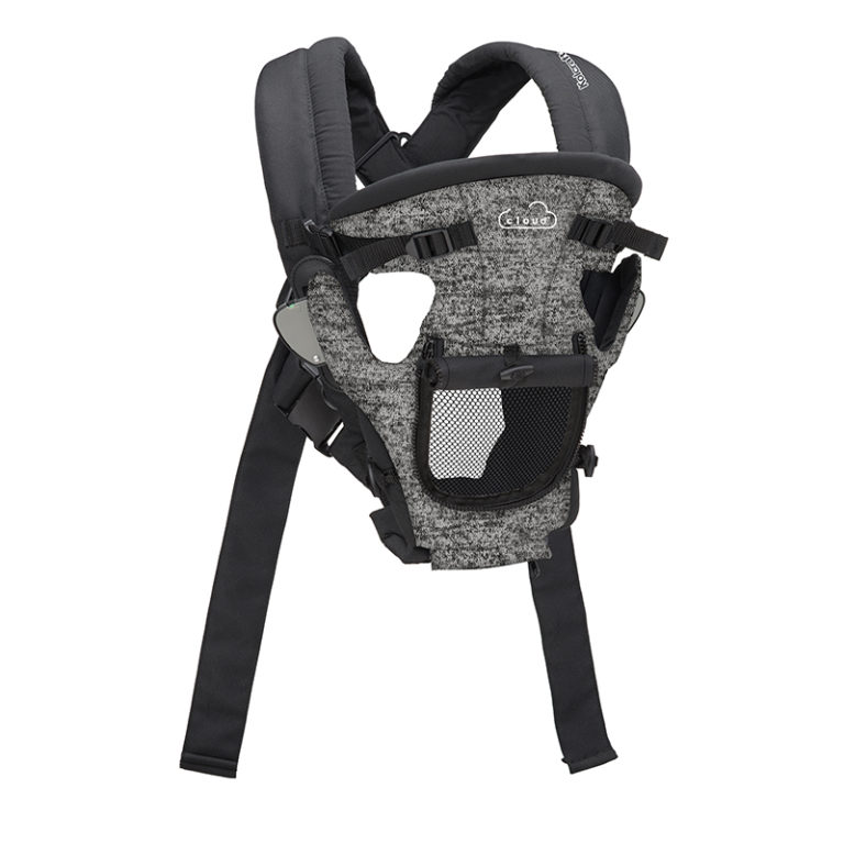 Kolcraft Cloud Cool Mesh Baby Carrier with mesh pocket