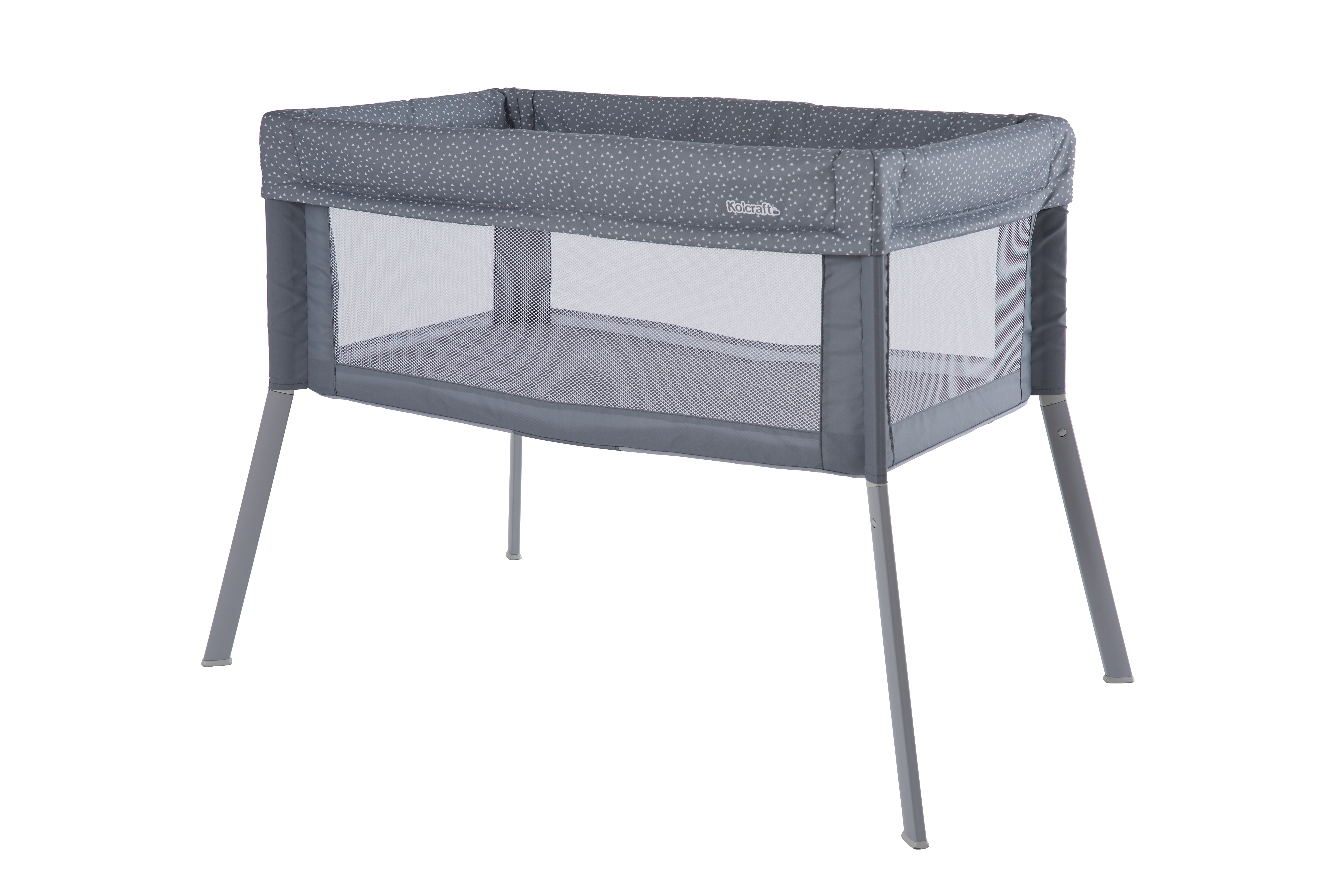 Kolcraft® Healthy Lite™ Portable Bassinet with Antimicrobial Sheet Protection