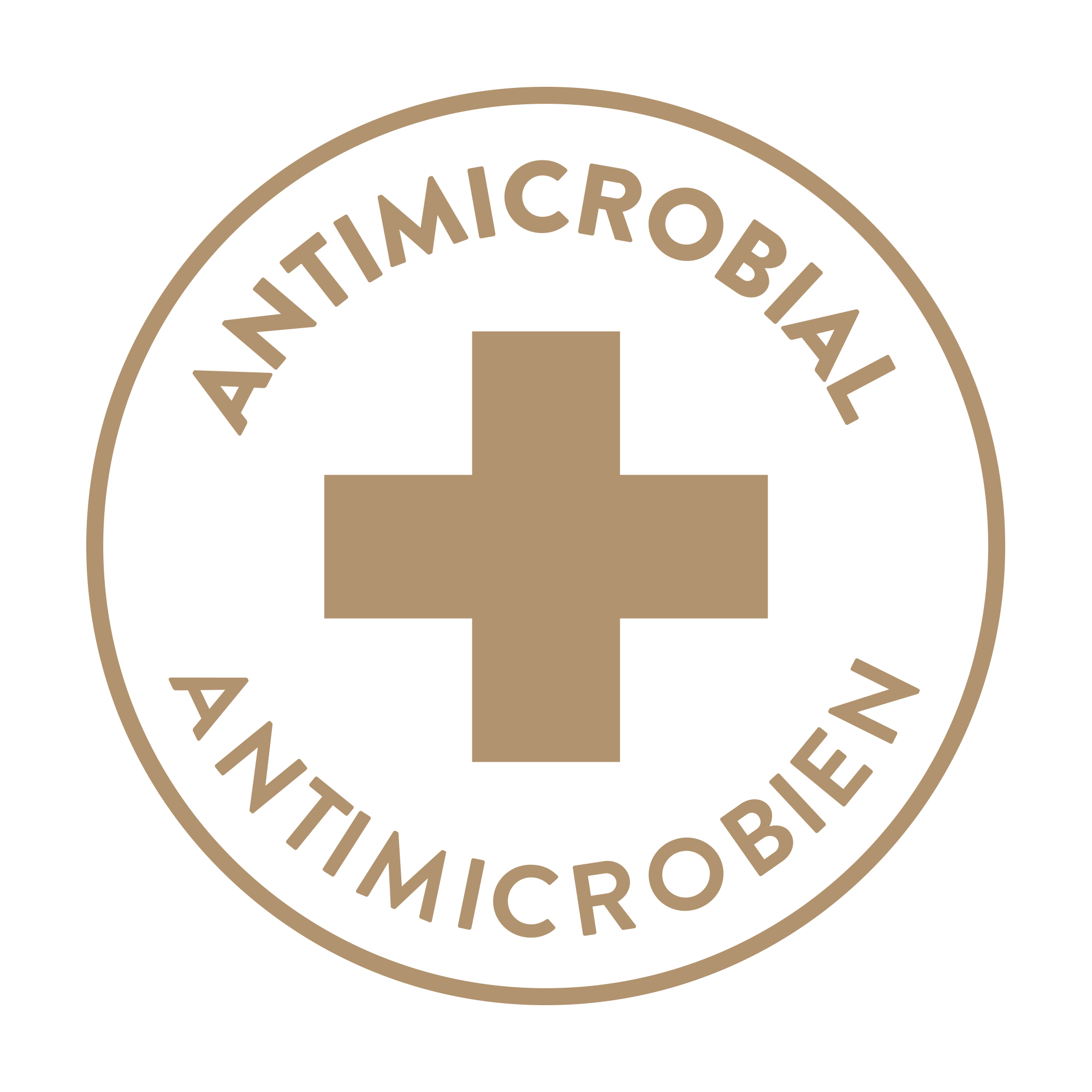 Antimicrobial Antimicrobien Icon